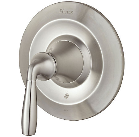 Brushed Nickel Iyla Valve, Trim Only - R89-1TRK - 1