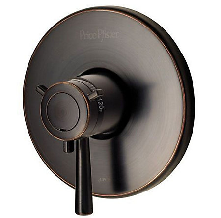 Tuscan Bronze Pfirst Series Valve, Trim Only - R89-1TUY - 1