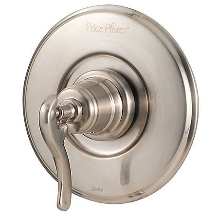 Brushed Nickel Ashfield Valve, Trim Only - R89-1YPK - 1