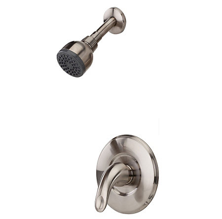 Brushed Nickel Serrano 1-Handle Shower, Trim Only - LG89-7SRK - 1