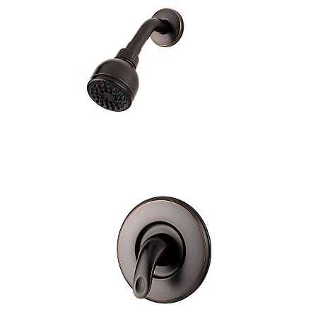Tuscan Bronze Serrano 1-Handle Shower, Trim Only - LG89-7SRY - 1