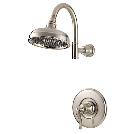 Brushed Nickel Ashfield 1-Handle Shower, Trim Only - G89-7YPK - 1