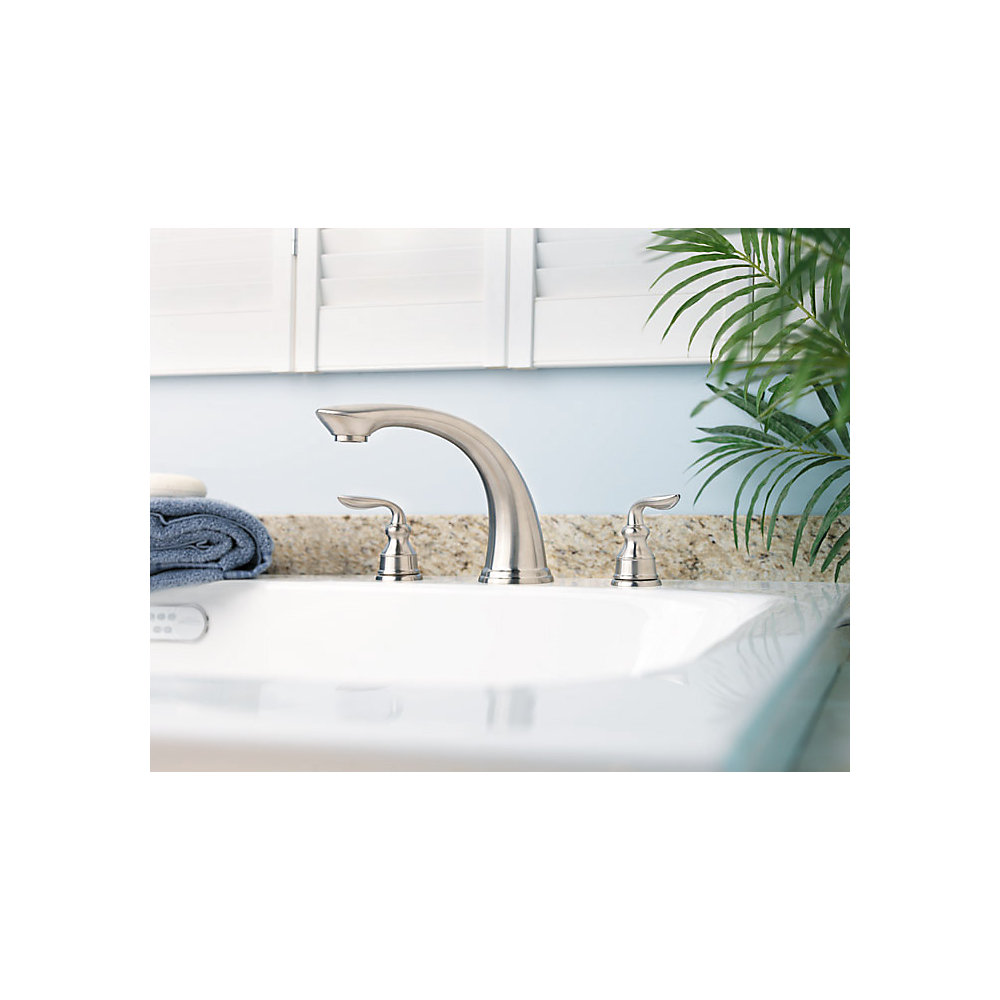 roman tub. Brushed Nickel Avalon Roman Tub  RT6 5CBK 5 Pfister Faucets
