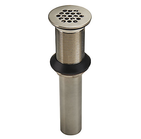 Brushed Nickel Pfister Bathroom Faucet Grid Strainer S47 7glk