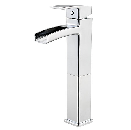Polished Chrome Kenzo Vessel Bath Faucet - T40-DF0C - 1