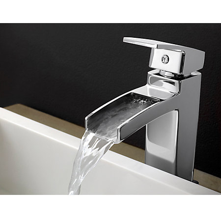 Polished Chrome Kenzo Single Control, Centerset Bath Faucet - T42-DF0C - 4