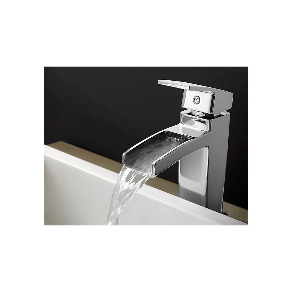 Polished Chrome Kenzo Single Control, Centerset Bath Faucet - T42 ...