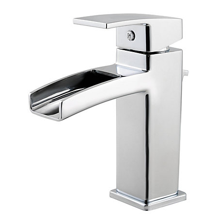 Polished Chrome Kenzo Single Control, Centerset Bath Faucet - T42-DF0C - 1