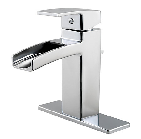 Polished Chrome Kenzo Single Control, Centerset Bath Faucet - T42-DF0C - 2