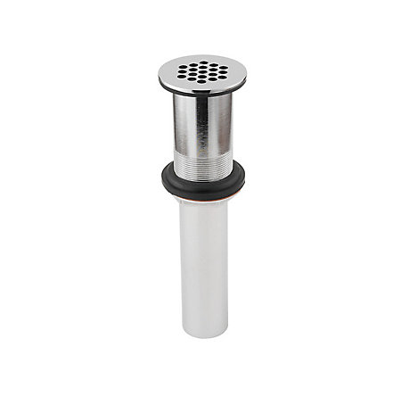 Polished Chrome Pfister Bathroom Faucet Grid Strainer without Overflow - T47-7GLC - 1