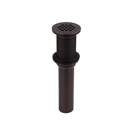 Rustic Bronze Pfister Bathroom Faucet Grid Strainer without Overflow - T47-7GLU - 1