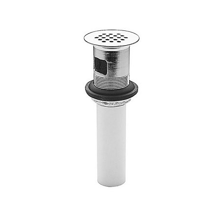 Polished Chrome Pfister Bathroom Faucet Grid Strainer with Overflow - T47-9GSC - 1