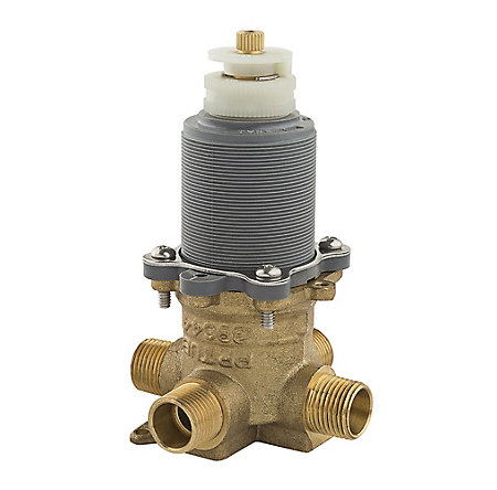 "Unfinished Pfister Thermostatic 1/2"" Tub and Shower Single-Control Pressure Balance Valve - TX9-310A - 1"