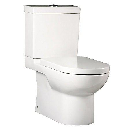 White Bernini Elongated Two Piece Toilet - VTP-E11W - 1