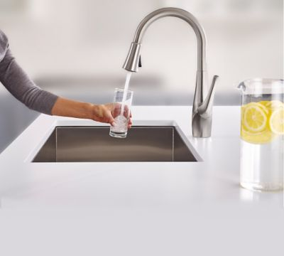 Pfister Faucets With Xtract™ Deliver Fresh, Filtered Water