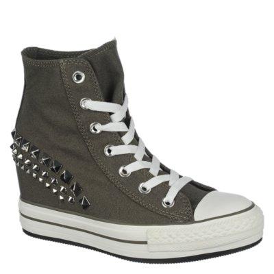 Converse Chuck Taylor Platform Grey Casual Wedge Sneaker