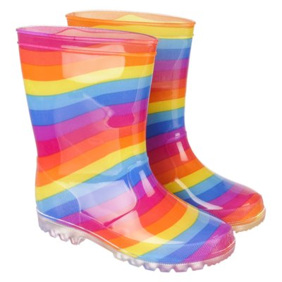 Rainbow Light Rainboot Shiekh Shoes
