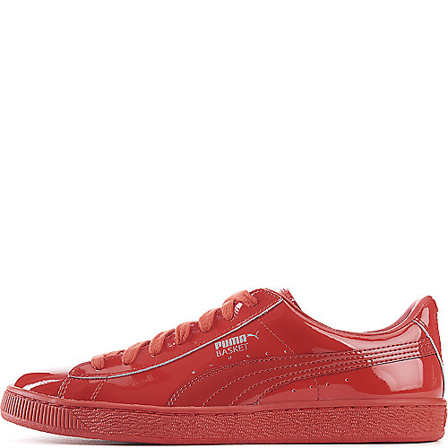 Men S Puma Basket Classic Patent Emboss Casual Shoes