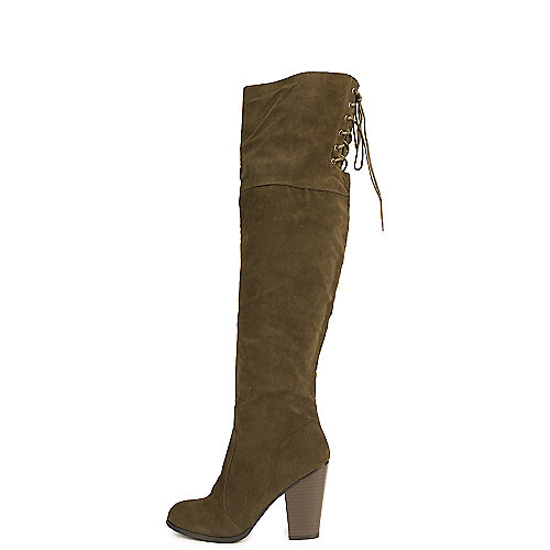 9bd925db5db Shiekh Olive Women s Max-2 Knee High Boot