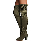 a96b170a49b Women s Addison-1 thigh High Lace-Up Boot