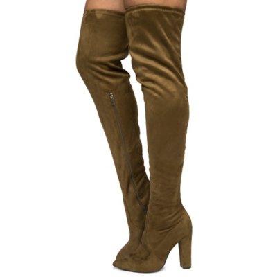 Women's Madam-07M Thigh High Boots