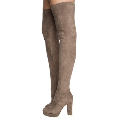 Women's Twisty-02S Thigh High Boots