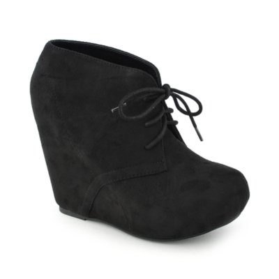 Soda Pager Women Black Ankle Bootie Shiekh Shoes