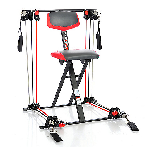 nano gym deluxe total home gym w instructional workout dvd meal guide evine
