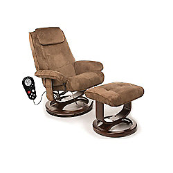 Comfort Products Eight-Motor Massage Deluxe Recliner Chair w/ Heat
