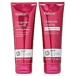 Viviscal Gorgeous Growth Densifying Shampoo & Conditioner Duo 8.45 oz Each