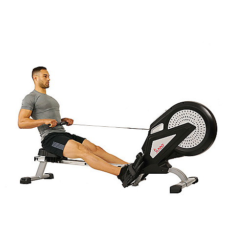 Sunny Health & Fitness Indoor Magnetic Air Rowing Machine