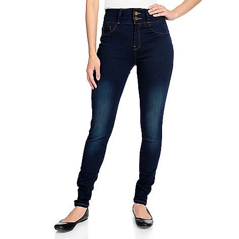 02b119ea2473 My Fit™ One Size Fits Always™ Denim 2-Pocket Slim Leg Jeans - EVINE