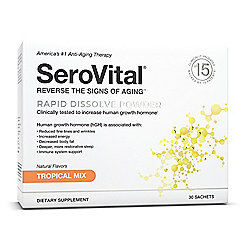SeroVital Tropical Mix Anti-Aging, Beauty & Dietary Powder (30 Count)