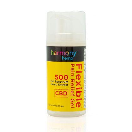 Last 24 Hours Now's Your Chance at ShopHQ - 002-477 Harmony Hemp Flexible Pain Relief Gel 3.4 oz w 500mg Full Spectrum CBD