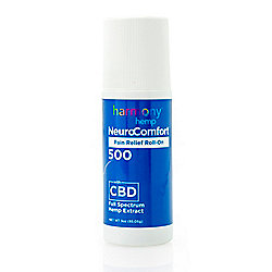 Harmony Hemp NeuroComfort Pain Relief Roll-on 3.4 oz w/ 500mg Full Spectrum CBD