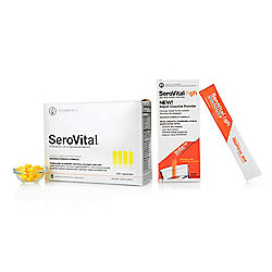SeroVital Anti-Aging Beauty & Dietary Supplement w/ Bonus Powders