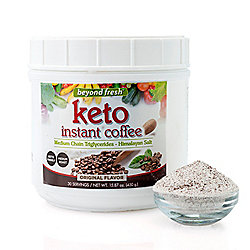 Beverage at ShopHQ | 002-535 Heather Thomson Superfoods Keto Instant Choice of Flavor Coffee (30 Servings) - 002-535