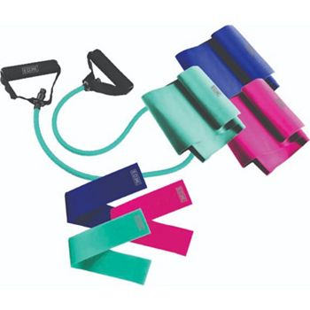 Fitness at Home Your Own Pace in Your Own Space - 002-899 EDX 7-Piece Resistance Set - 002-899