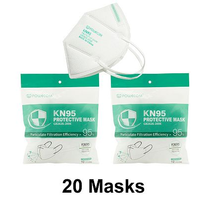 Face Masks Our Best Values Starting Under $20 003-046 Powecom Choice of Breathable Respirator KN95 Masks for Personal Use