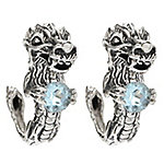 1ca58322cd779f Image of product 149-995 · Artisan Silver by Samuel B. Gemstone Dragon ...