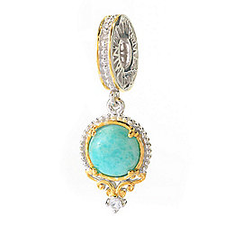 Gems en Vogue Final Cut American Gemstone Drop Charm