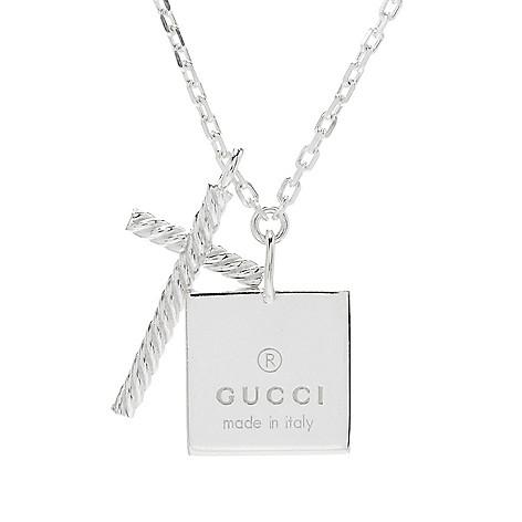 9c72fa557 154-072- Gucci Sterling Silver 18.75