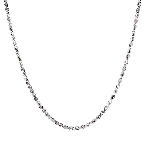 Viale18K®_Italian_Gold_Semi-Solid_Polished_Rope_Chain_Necklace