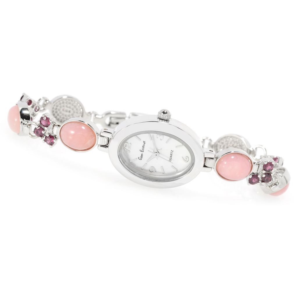 Gem Essence Mother-of-Pearl & Gemstone Watch - 160-092