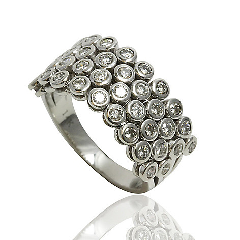 Sonia Bitton Galerie De Bijoux 14k White Gold 1 00ctw Diamond 4