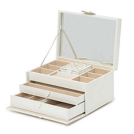 e1cacdb88d0c 164-342- WOLF Marrakesh Leather Medium Jewelry Box w/ Travel Case