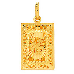 Shop 21 to 24k gold pendants online evine image of product 165 317 quickview lambert cheng 24k gold aloadofball Choice Image