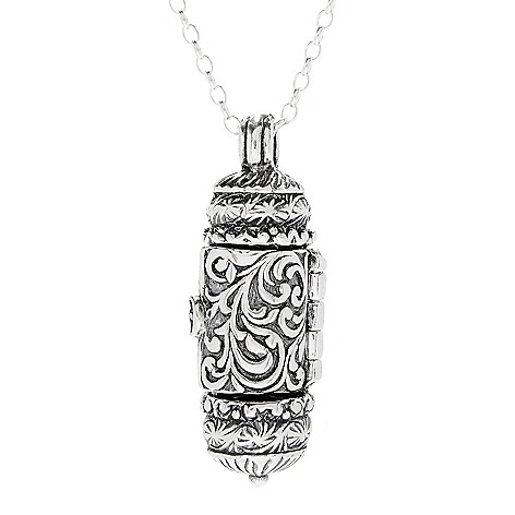 Passage to israel sterling silver scrollwork prayer box pendant w 166 583 passage to israel sterling silver scrollwork prayer box pendant w aloadofball Gallery