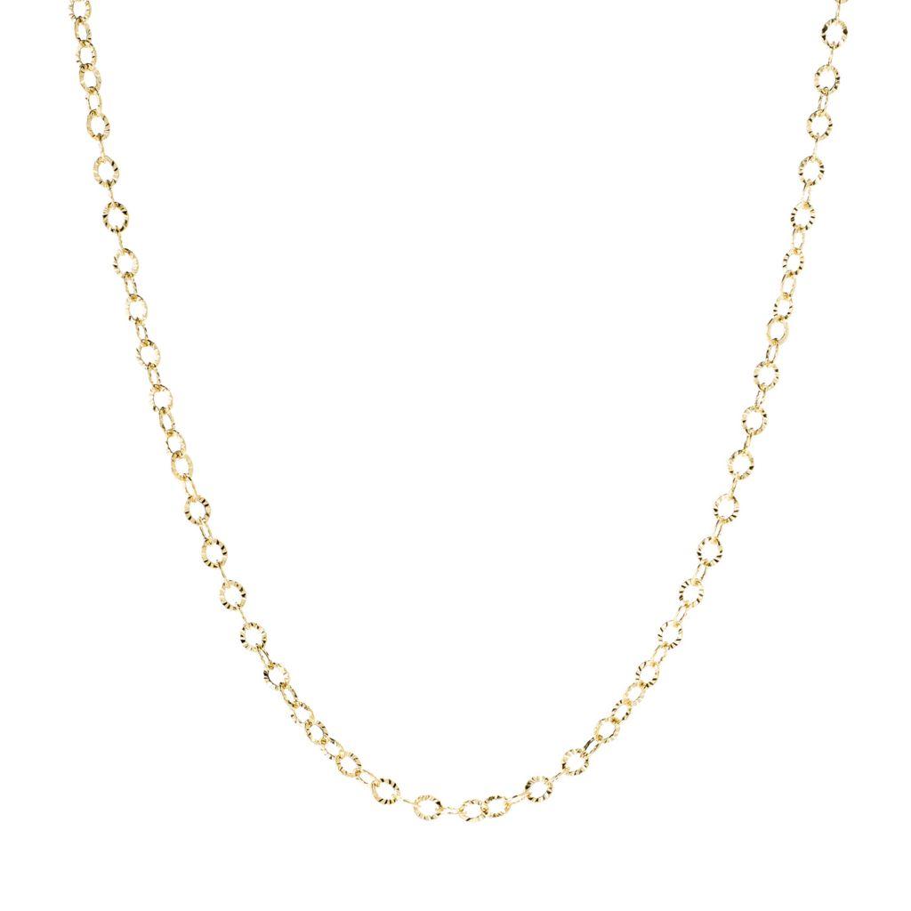 Stefano Oro 'Raggio Di Sole' 14K Chain Necklace - 166-745