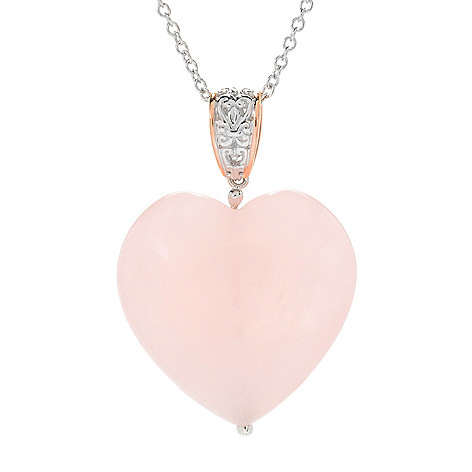 quartz gem love the and crystal c image p heart tree pendant pink pendants larger gemstone rose carved